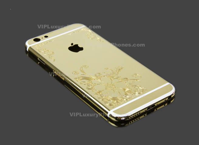 iPhone 6 Luxury Gold Case
