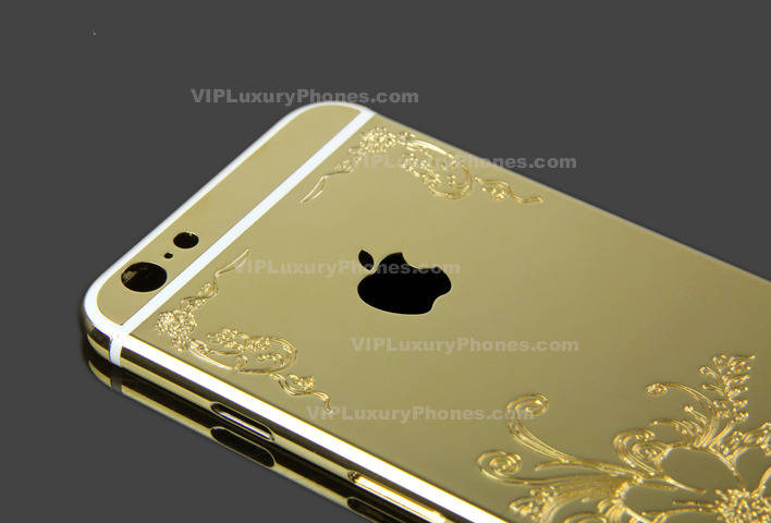 iPhone 6 Gold Designer Case