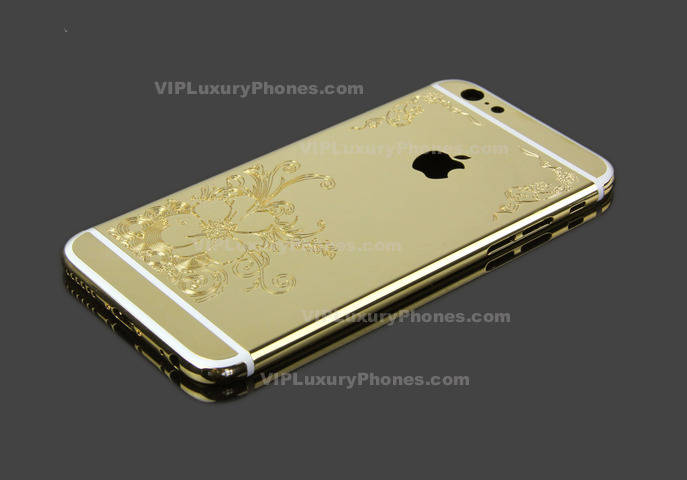 IPhone 6 Gold Case