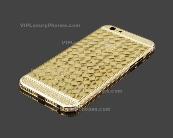 iPhone 6 Designer Gold Cover