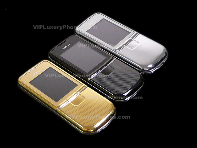 Snimka.bg: Nokia 8900 SILVER , GOLD , BLACK - Бизнес - smobile11