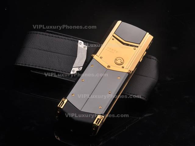 Vertu Signature Gold Phone Best Vertu Replica Phones