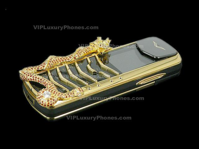 Vertu Signature Dragon Diamonds : Best Copy Phones
