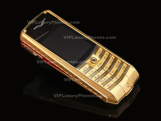 the best vertu gold phone cell phones 2016. Black Bedroom Furniture Sets. Home Design Ideas