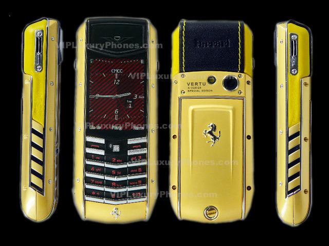 Vertu Full Gold Mobile Phone Buy Vertu Best Price