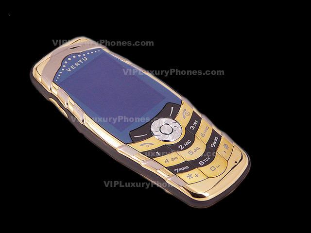 Vertu Gold Luxury Phones
