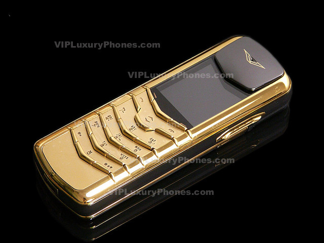 Vertu Signature Gold Phone Limited Edition Phones