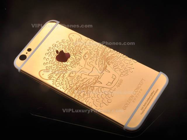 low priced 4ffcb 67fbf iPhone 6s Plus Lion Gold Cover