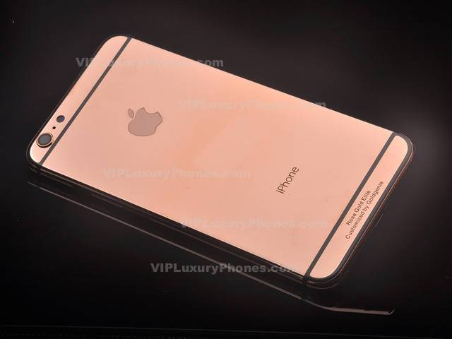 Luxury IPhone 7 Plus Real Rose Gold Back Panel
