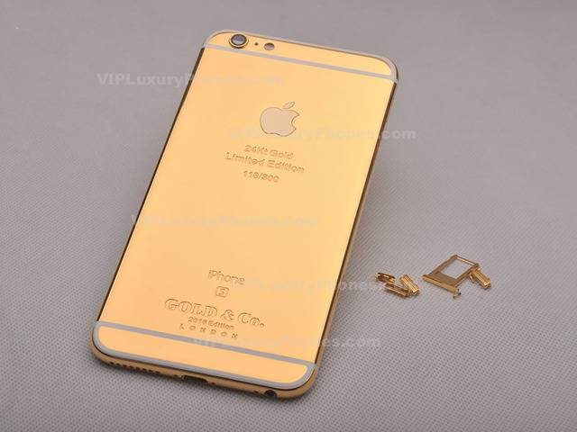 best sneakers 53251 6e7e2 iPhone 8 Plus Limited Edition Gold Back Cover