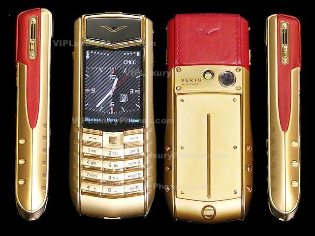 Vertu 24k Gold Cell Phone Vertu Mobile For Sale