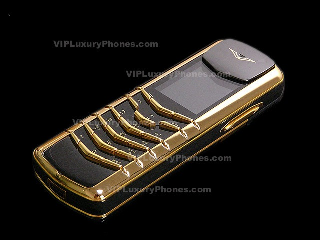 Vertu Gold Phone For Sale Vertu Designer Phones